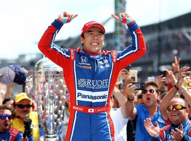 Takuma Sato Indianapolis 500